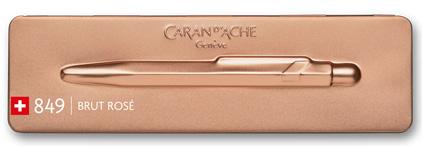 Stylo bille 849 Brut rosé de Caran d'Ache - photo 5