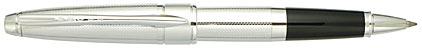 Roller Apogée chromé Grain d'Orge de Cross, cliquez pour plus de détails sur ce stylo...