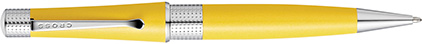 Stylo bille aquatic jaune Beverly de Cross