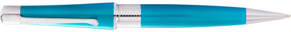 Stylo bille turquoise Beverly de Cross, cliquez pour plus de d�tails sur ce stylo...