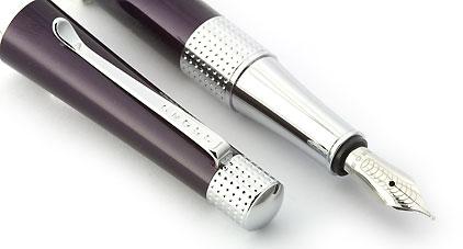 Stylo plume laqué violet Beverly de Cross - photo 3