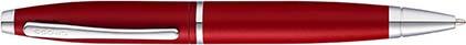Stylo bille Calais rouge mat de Cross, cliquez pour plus de d�tails sur ce stylo...