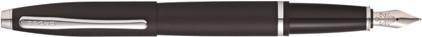 Stylo plume Calais noir mat de Cross, cliquez pour plus de d�tails sur ce stylo...