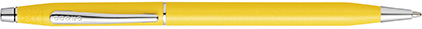 Stylo bille aquatic jaune Century Classic de Cross, cliquez pour plus de d�tails sur ce stylo...