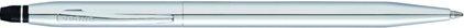 Stylo bille Click chrome, cliquez pour plus de détails sur ce stylo...