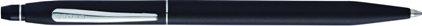 Stylo bille click noir mat, cliquez pour plus de détails sur ce stylo...