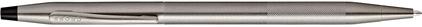 Stylo bille gris titanium corps diamant Century Classic de Cross, cliquez pour plus de d�tails sur ce stylo...