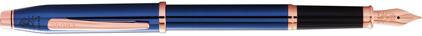 Stylo plume bleu cobalt Century II de Cross, cliquez pour plus de d�tails sur ce stylo...