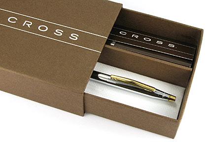 Portemine Century Classic chromé attributs dorés de Cross - photo 4