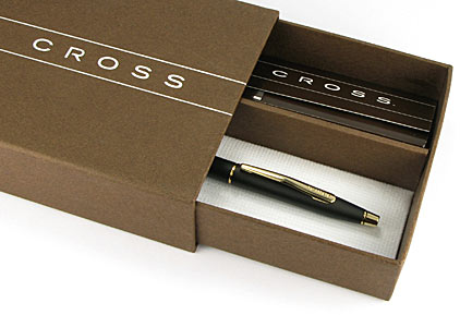 Portemine Century Classic Noir Mat attributs dorés de Cross - photo 4