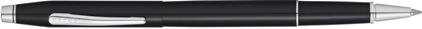 Roller Century Classic laqué noir nouvelle version de Cross, cliquez pour plus de d�tails sur ce stylo...
