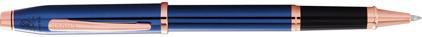 Roller bleu cobalt Century II de Cross, cliquez pour plus de d�tails sur ce stylo...
