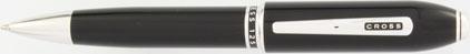 Stylo bille noir laqué Obsidian de Cross, cliquez pour plus de d�tails sur ce stylo...
