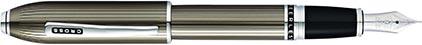 Stylo plume Peerless laque gravée bronze de Cross, cliquez pour plus de d�tails sur ce stylo...