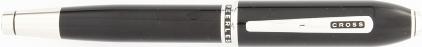 Stylo roller noir laqué Obsidian de Cross, cliquez pour plus de détails sur ce stylo...