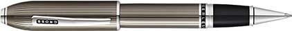 Roller Peerless laque gravée bronze de Cross, cliquez pour plus de d�tails sur ce stylo...