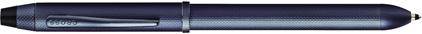 Stylo multifonction Tech3+ bleu diamant de Cross, cliquez pour plus de d�tails sur ce stylo...