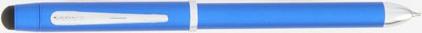 Stylo multifonction Tech 3 Bleu Métallique de Cross, cliquez pour plus de d�tails sur ce stylo...