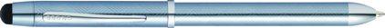 Stylo Tech 3 + guilloché bleu glace, cliquez pour plus de d�tails sur ce stylo...