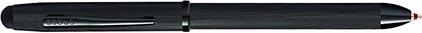 Stylo multifonction Tech3+ noir diamant de Cross, cliquez pour plus de d�tails sur ce stylo...