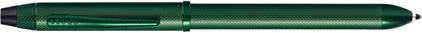 Stylo multifonction Tech3+ vert diamant Cross, cliquez pour plus de d�tails sur ce stylo...