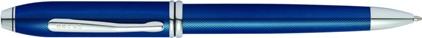 Stylo bille Townsend quartz blue de Cross, cliquez pour plus de d�tails sur ce stylo...