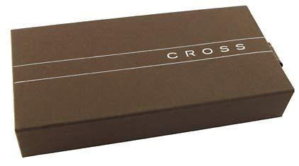 Stylo bille Townsend laqué noir plaqué rhodium de Cross - photo 4