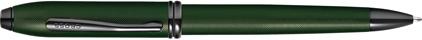 Stylo bille vert diamant Townsend de Cross, cliquez pour plus de d�tails sur ce stylo...