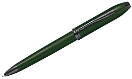 Stylo bille vert diamant Townsend de Cross - photo.