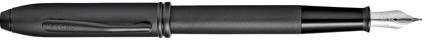 Stylo plume noir diamant Townsend de Cross, cliquez pour plus de d�tails sur ce stylo...