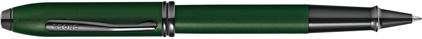 Roller vert diamant Townsend de Cross, cliquez pour plus de d�tails sur ce stylo...