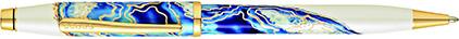 Stylo bille Wanderlust Malte de Cross, cliquez pour plus de d�tails sur ce stylo...