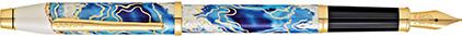 Stylo plume Wanderlust Malte de Cross, cliquez pour plus de d�tails sur ce stylo...