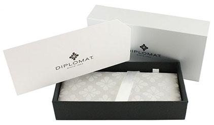 Stylo Bille Excellence A+ Rhomb guilloché lapis noir chrome de Diplomat - photo 6
