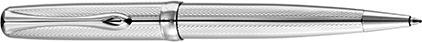 Stylo bille Excellence A2 guilloché rayures chrome de Diplomat, cliquez pour plus de d�tails sur ce stylo...