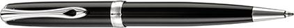 Stylo bille Excellence A2 laqué noir de Diplomat, cliquez pour plus de d�tails sur ce stylo...