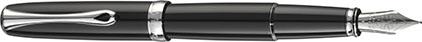 Stylo plume Excellence A2 laqué noir de Diplomat, cliquez pour plus de d�tails sur ce stylo...