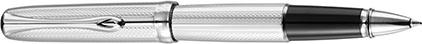 Roller Excellence A2 guilloché chrome de Diplomat, cliquez pour plus de d�tails sur ce stylo...