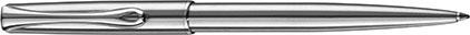 Stylo bille Traveller acier de Diplomat, cliquez pour plus de d�tails sur ce stylo...