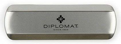Stylo bille Traveller acier doré de Diplomat - photo 4