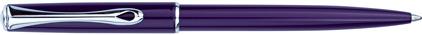 Stylo bille Traveller laqué violet de Diplomat, cliquez pour plus de d�tails sur ce stylo...