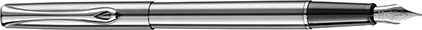 Stylo plume Traveller acier de Diplomat, cliquez pour plus de d�tails sur ce stylo...