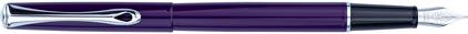 Stylo plume Traveller laqué violet de Diplomat, cliquez pour plus de d�tails sur ce stylo...
