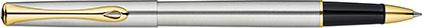 Roller Traveller acier doré de Diplomat, cliquez pour plus de d�tails sur ce stylo...