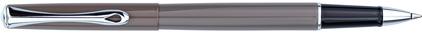 Roller Traveller laqué gris taupe de Diplomat, cliquez pour plus de d�tails sur ce stylo...