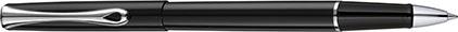 Roller Traveller noir laqué de Diplomat, cliquez pour plus de d�tails sur ce stylo...