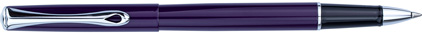 Roller Traveller laqué violet de Diplomat, cliquez pour plus de d�tails sur ce stylo...
