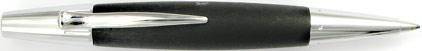 Le stylo bille E-Motion Bois de poirier Nuit et chrome de Faber-Castell, cliquez pour plus de d�tails sur ce stylo...