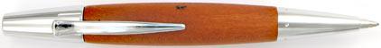 Le stylo bille E-Motion poirier d'automne chromé de Faber-Castell, cliquez pour plus de détails sur ce stylo...