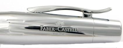 Le stylo plume E-Motion Bois de poirier Automne et chrome de Faber-Castell - photo 5